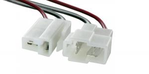 Разъём 2 контакта с проводом Т-образный DJ7021-6.3